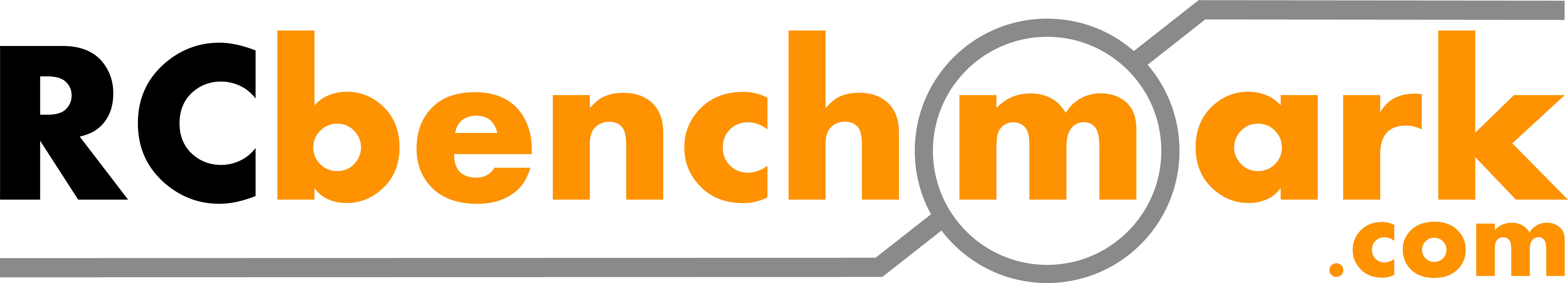 RC Benchmark Logo, 12 inches in length, full color